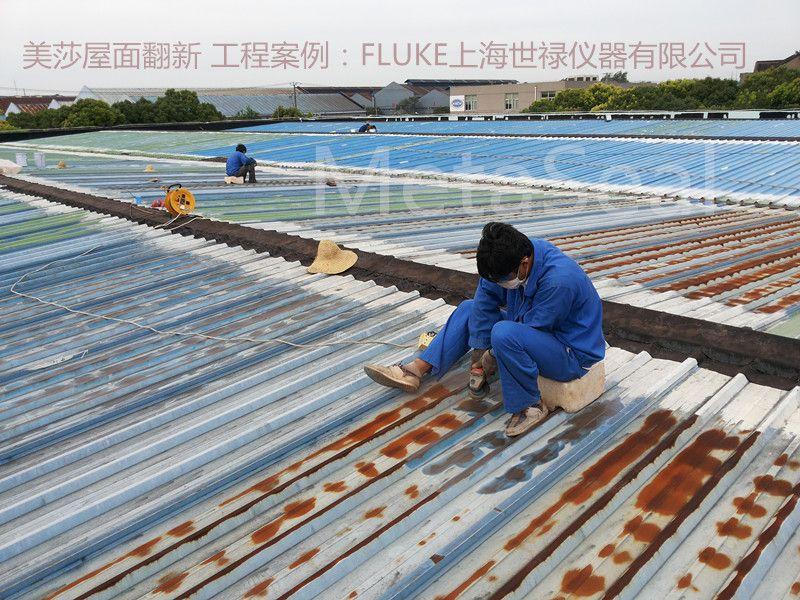 彩钢屋面除锈防腐案例1