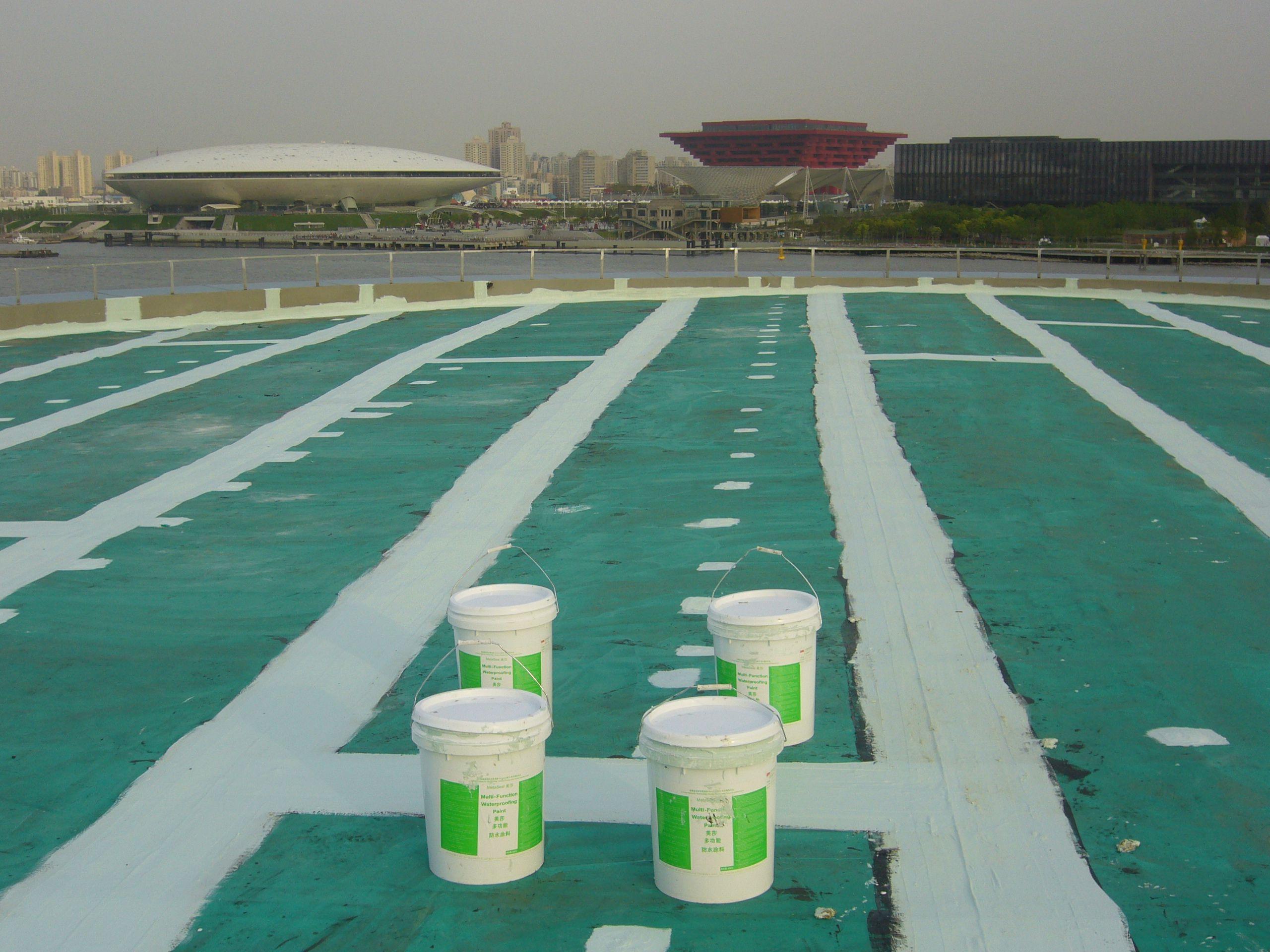 PVC卷材屋面防水补漏